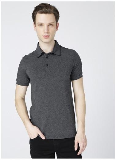 Lee Cooper Lee Cooper Daker Antrasit Polo Yaka T-Shirt Antrasit
